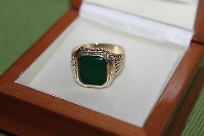 antiker Goldring, Herrenring , Siegelring Gold 585