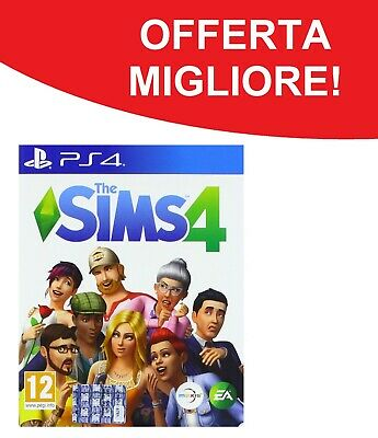 The Sims 4 PS4 Playstation 4 - NUOVO E SIGILLATO - OFFERTA LIMITATA