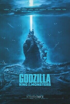 Godzilla King Of The Monsters Poster A4 A3 A2 A1 Cinema Movie Large Film Art