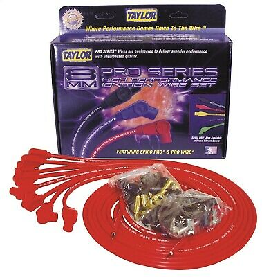 Taylor Cable 70251 8mm Pro Wire Ignition Wire Set