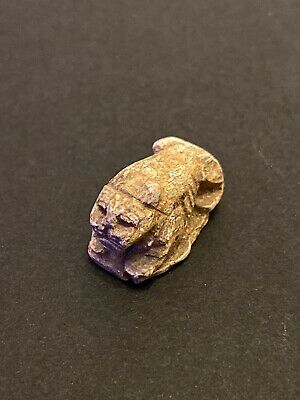 Stunning New Kingdom Egypt Lion Sphinx Scarab 16th-11th Century BC. W/AuctionPwk