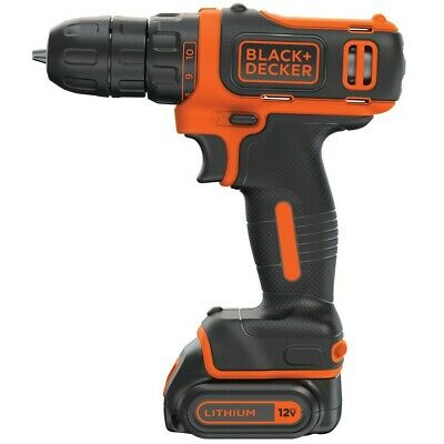 BLACK+DECKER 12-Volt Max 3/8-in Cordless Drill (Charger Included and 1-Battery I