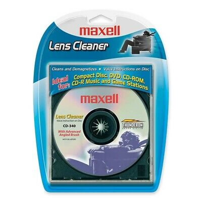Maxell 190048 Cd-340 Cd Lens Cleaner Dry 5/18Cd-340