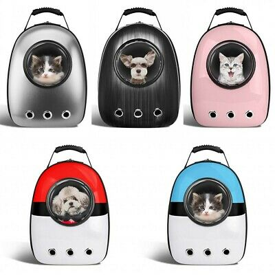 Small Pet Cat Dog Puppy Carrier Travel Bag Space Capsule Backpack Breathable