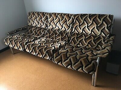 Retro Mid-Century Alpha 3 Seater Sofa for Pieff, 1970's
