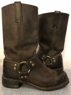 FRYE MEN'S LEATHER Harness Engineer Harness Boots Oiled