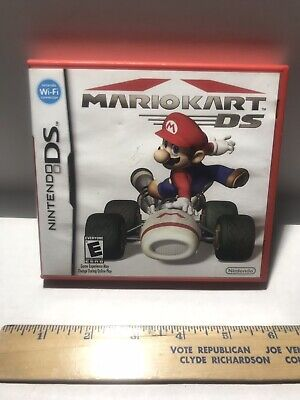 Mario Kart Ds 2005 Red CASE ONLY NO GAME used Nintendo