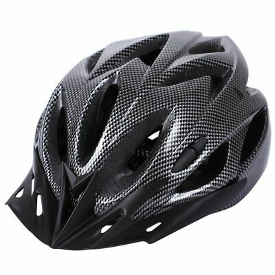 2X(Carbon Bicycle Helmet Bike MTB Cycling Adult Adjustable Unisex Safety He N3D5