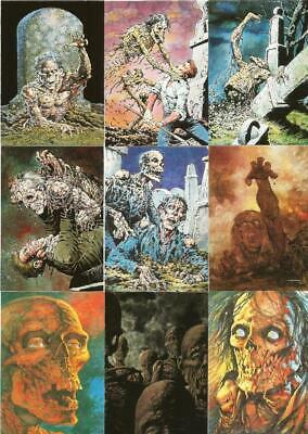BERNIE WRIGHSTON  Full Set Completo 90 Trading Cards Master of the Macabre