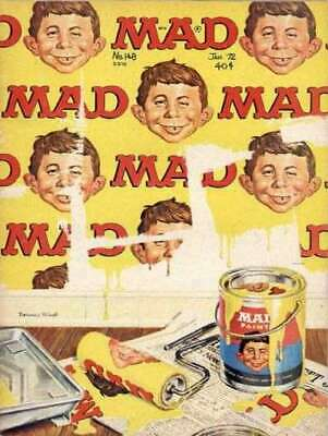 Mad (1952 series) #148 in Fine minus condition. E.C. comics [*7a]
