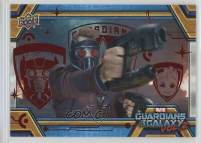 2017 Upper Deck Guardians of the Galaxy Volume 2 Red/49 #76 Extraction Point 0ad