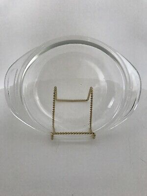 Pyrex Replacement Domed Lid 682-C-8 Clear Glass with Tabs/Handles