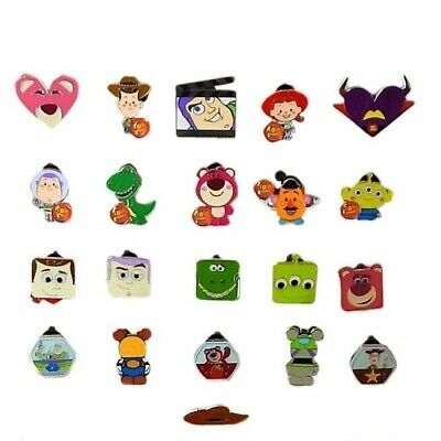 Toy Story Themed 5 Disney Park Trading Pins Set ~ Randomly Assorted ~ Brand NEW