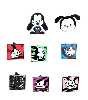 Oswald Lucky Rabbit Themed 5 Disney Trading Pins ~ Randomly Assorted ~ Brand NEW