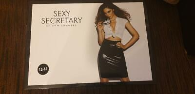 f8bb5bea09aed ANN SUMMERS TEXT Book Tease Dress Up Size 12/14 - £7.00 | PicClick UK