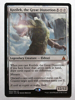 Kozilek, the Great Distortion OGW Oath of the Gatewatch     Mtg Magic (Mint-Nm)