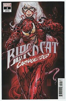 Black Cat # 2 Mark Brooks CARNAGE-IZED Variant NM DC Pre Sale Ships July 10th