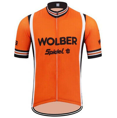 Wolber Spidel Retro Cycling Jersey