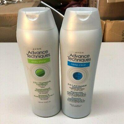 Avon Advanced Techniques 2 in 1 shampoo+Conditioner Bundle