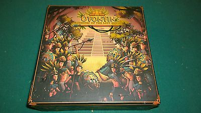 Red Tin Bot Boardgame Otontin  Warriors of the Lost Empire Box open complete