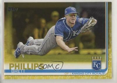 2019 Topps Walgreens Yellow #195 Brett Phillips Kansas City Royals Baseball Card