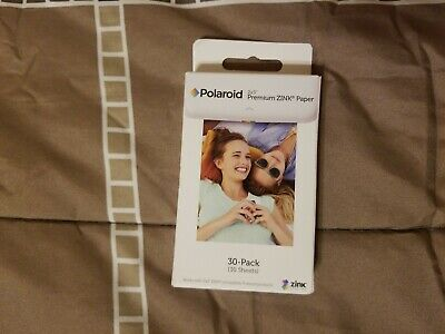 Polaroid 2x3 Premium ZINK Photo picture Paper 30-Pack 30 Sheets polz2x330
