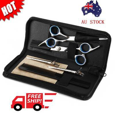 "6X 6"" Salon Hairdressing Scissors Set Hair Barber Shears Cutting Thinning Tool"