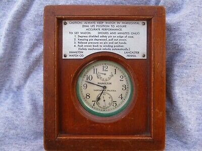 Maritime Clocks Glashutte Old Marine Chronometer Load Manual All Original Number 13116 Reliable Performance Maritime