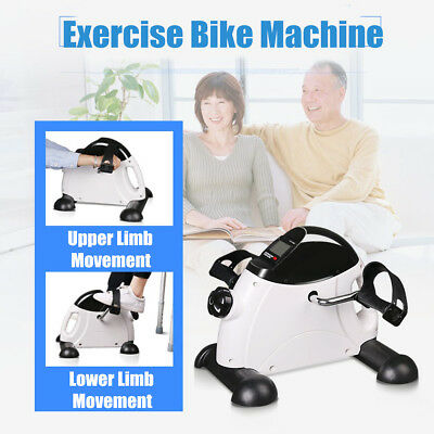 LCD Mini Pedal Exercise Bike Cycle Fitness Hand Foot Indoor Physical