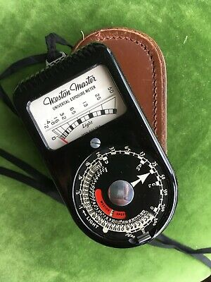 Mint Weston Master Vintage Light Meter.
