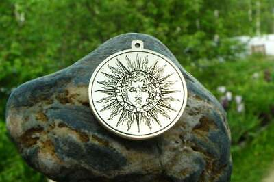 Ancient Greek God of the Sun - Helios amulet