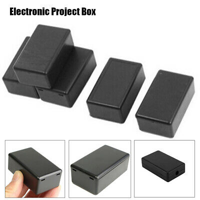 1Pc Waterproof Case Black Cover Plastic DIY Electronic Project Box 5 Sizes