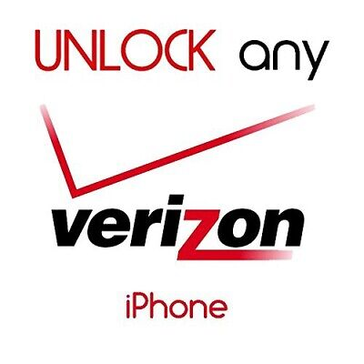 FACTORY UNLOCK Service VERIZON iPhone 5s,6,6s,7,7+,8,X,XS,XRFast 5min-12hours