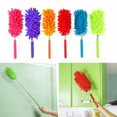 Hoomall® Adjustable Stretch Extend Microfiber Dust Shan Feather Duster Household