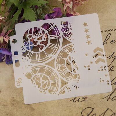 Star DIY Journal Stencil Layering Stencil Plastic Planner Drawing Template Stamp
