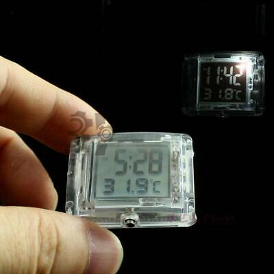 Motorcycle Luminous Vehincal Waterproof Digital Clock Watch with Temperature