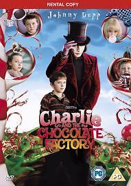 Charlie And The Chocolate Factory (DVD, 2005, 2-Disc Set) VGC FREEPOST!