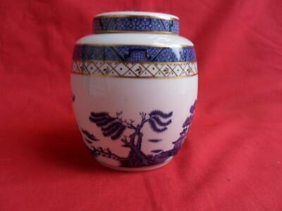 Royal Doulton Booths Real Old Willlow TC1126, Lidded Ginger Jar