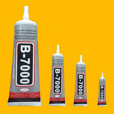 B-7000 Glue Industrial Adhesive for Phone Frame Bumper Jewelry Decor 10-110ml