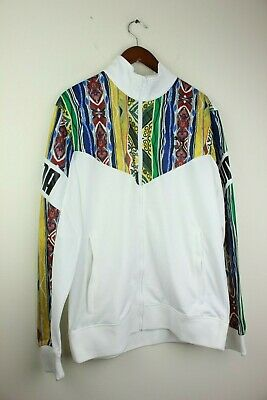00a17e4fa1ac8 PUMA MENS COOGI Track Jacket White AOP Multicolor Multi 575201-01 Men  Running