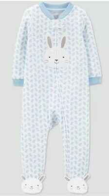 ffb24f533 NWT Carter's JOY 3m Baby Boy Easter Bunny Footed Sleep N Play Sleeper Outfit