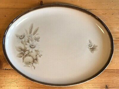 "Denby Memories Large Oval Serving Platter 14"" long x 10.5"" wide"