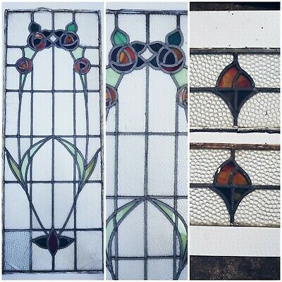Leaded Stained Glass Windows (1930's)