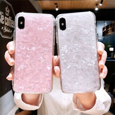 Fashion Marble Shockproof Silicone Protective Cover Case For Phone 8 7 6 Plus