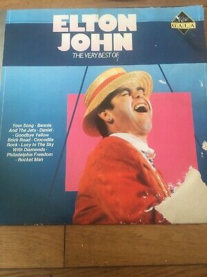 ELTON JOHN The Very Best Of Elton John 1986 ARCADE VINYL LP 14 HITS