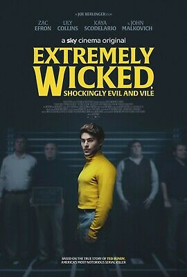 Extremely Wicked Shockingly Evil And Vile (2019) Disk Only.
