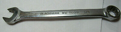 """Blackhawk USA BW-1166FP Combination Wrench 3/4"""" 12-Point    A296"""