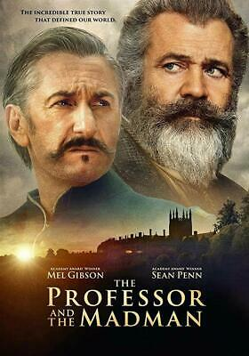 The Professor And The Madman (DVD) 2019, Mel Gibson and Sean Penn.