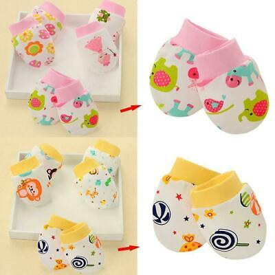 Newborn Boy Girl Infant Cotton Handguard Anti Scratch Mittens Gloves Super Best