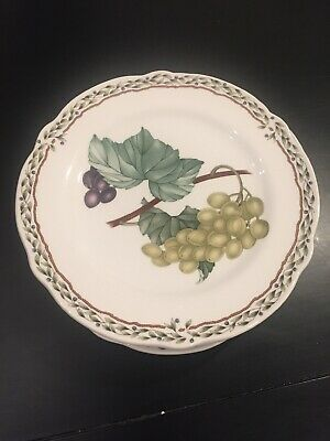 "Lot Of 2 Noritake Royal Orchard Bread & Butter Or Dessert Plates 6 3/4"" Japan"